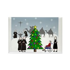 LSP Christmas card OCTOBER Rectangle Magnet