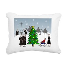 LSP Christmas card OCTOB Rectangular Canvas Pillow
