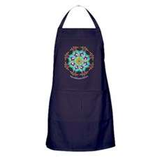 Turkish Mandala n1 Apron (dark)