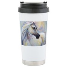 Heavenly Horse art by Janet Fer Ceramic Travel Mug