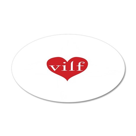 vilfko 35x21 Oval Wall Decal