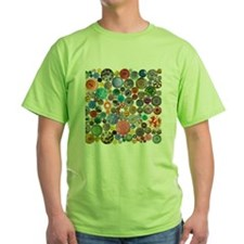 Buttons Square 8x8 T-Shirt