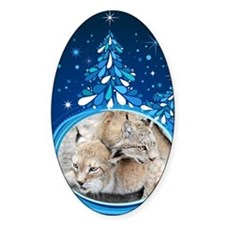 Christmas Card - Tobia and Duchess  Decal