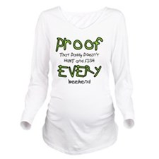 Proof Long Sleeve Maternity T-Shirt