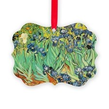 Irises by Vincent Van Gogh Ornament
