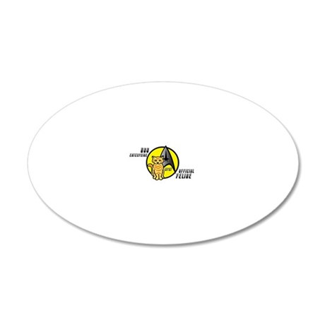 spot version 4 copy 20x12 Oval Wall Decal