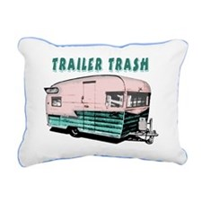 trailertrashsmalls Rectangular Canvas Pillow
