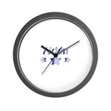 Personalized Aiden Wall Clock