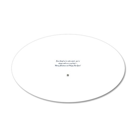 Inside Lydias In-Sync Exotic 20x12 Oval Wall Decal