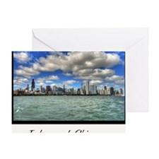 ipad2-chicago-dream-wht Greeting Card