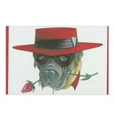 Dog Juan Postcards (Package of 8)