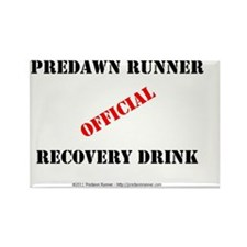 Predawn Runner Official Recovery  Rectangle Magnet