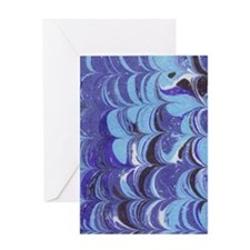 5x8_journal_marbled-1 Greeting Card