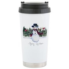 xmas card-front Ceramic Travel Mug