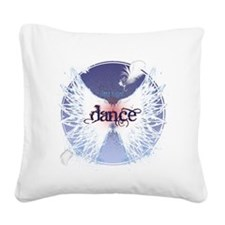 Dance Take Flight by Danceshi Square Canvas Pillow