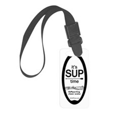 SUPtime_portrait Luggage Tag