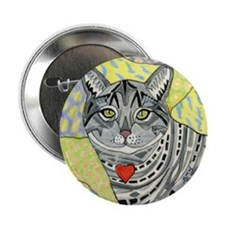 "cat-gray-tabby-heart-colors-1-5.25 2.25"" Button"