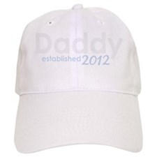 daddy established 2012_dark Baseball Cap