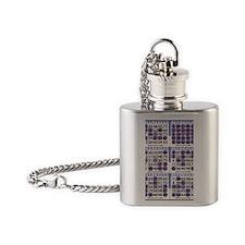 Jackpot Bingo Cards shirt 2 Flask Necklace
