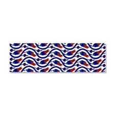 turkish tulip long 1 w imprved d Car Magnet 10 x 3