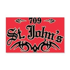 St Johns 709 Magnet Wall Decal