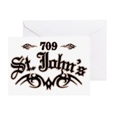 St. Johns 709 Greeting Card