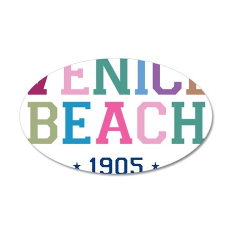 Venice Beach 1905 B 35x21 Oval Wall Decal