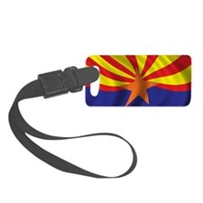 arizona_flag Luggage Tag