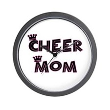 Cheer Mom Wall Clock
