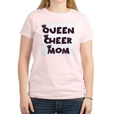 Queen Cheer Mom T-Shirt