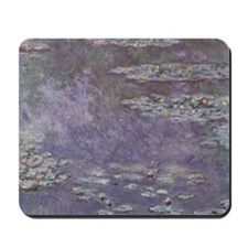 Water Lilies by Monet Mousepad
