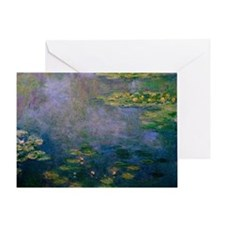 Water Lilies by Monet Greeting Card