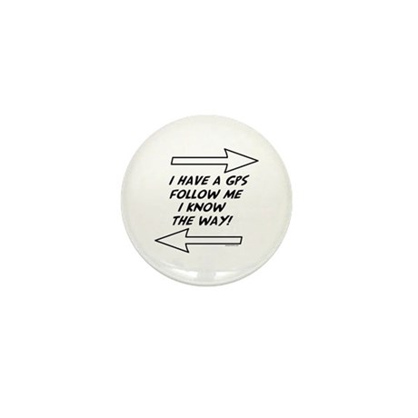 Follow Me Mini Button (10 pack)