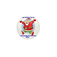 Santa Bills 10x10 Clr2 Mini Button