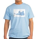 &quot;Hank&quot; Light Blue T-Shirt