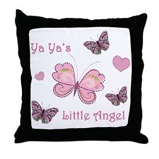 yayaangel Throw Pillow