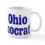 Ceramic Ohio Democrat Coffee Mug