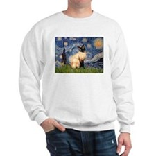 Starry Night Siamese Sweatshirt