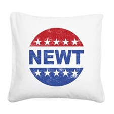 NEWT Square Canvas Pillow