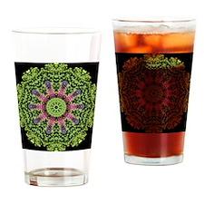 flower62 Drinking Glass