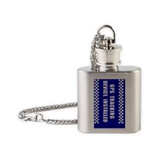 GPSKey_blue Flask Necklace