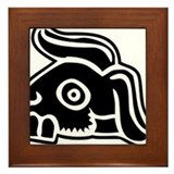 Tochtli Framed Tile