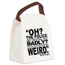 POLICE-WEIRD2 Canvas Lunch Bag