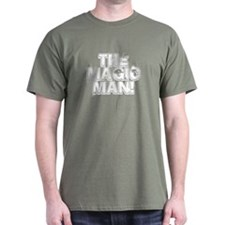 TMM white Military Green T-Shirt