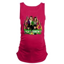 2Group_flames Maternity Tank Top