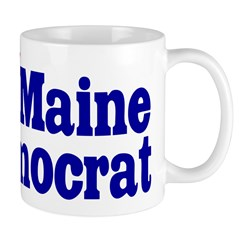 Ceramic Maine Democrat Coffee Mug