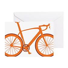 BARB_orange Greeting Card