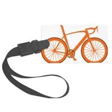 BARB_orange Luggage Tag