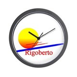 Rigoberto Wall Clock