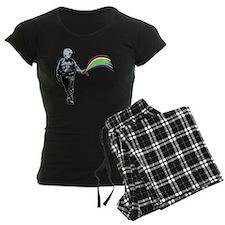 PSC_rainbow_black Pajamas